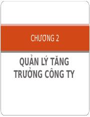 Chuong 2 - Quan ly tang truong cong ty.ppt