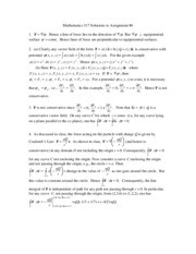 Mathematics 317 Solutions to Assignment6(2)