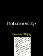 Lectures  04-1 Introduction to Sociology.ppt