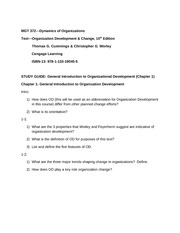 Chp 1 Study Guide