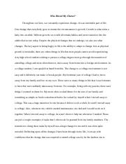 Who Moved My Cheese Extra Credit Example Essay