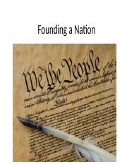Founding a Nation.pptx