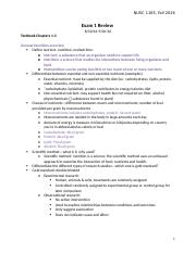Nutrition 1165 Exam 1 Study Guide.docx