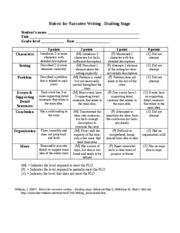 compare and contrast essay rubric 7th grade