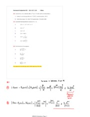 Homework #10 with Solutions