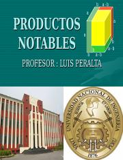SEMANA 2 PRODUCTOS NOTABLES.ppt