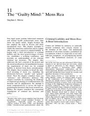 Morse Mens Rea in Kagehiro & Laufer Handbook of Psychology and Law (1992).pdf