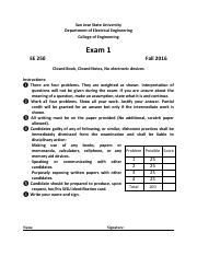 EE_250_Exam_1_Solution_Fall2 _2016