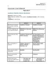 Week 4 Academic Honesty Worksheet