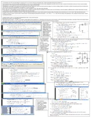 physics cheat sheet exam3