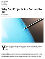 Why Bad Projects Are So Hard to Kill.pdf