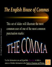 Commas Powerpoint.pps
