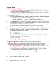 Ch_3_Mass Relationships in Chemical Reactions