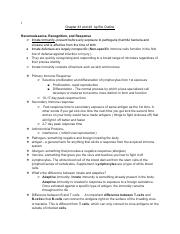 Chapter 54 Outline_ Ecosystems pdf - Chapter 54 Outline