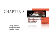 Design Review and Conceptualization External Search