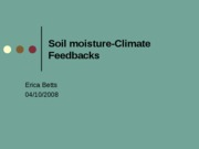 soil moisture_climate feedbacks