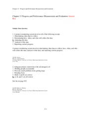 The-Managerial-Process-ANSWER-KEY-Chap-013