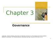 ACCT 632 Chapter 3 PowerPoint Slides (3d. ed.)