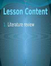 4. Part 2 Chapter 9 Literature Review(2).pptx