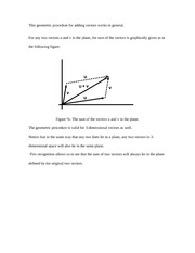 This geometric procedure for adding vectors works in general