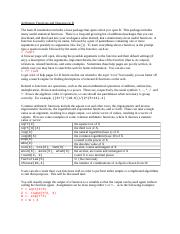 4. Arithmetic Functions and Operators in R.docx