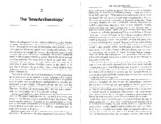 Johnson 1999_New Archaeology