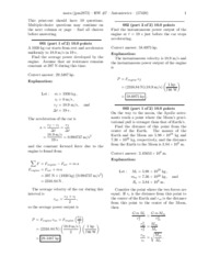 Physics hw 7 solutions