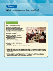 Chapter 1  What Is Management Accounting