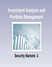 Security Markets -1.ppt