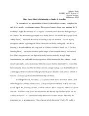 Short Essay on Music and Sexuality FINAL