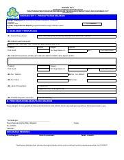 Sip Form2 Pdf Borang Sip 2 Borang Pendaftaran Pekerja Peraturan