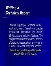 ENGL1238 19 report assignment details.ppt