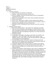 Contemporary Health- TEST 2 Study Guide