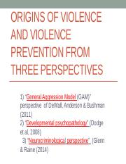 EDHD 221  GAM  Dev Psychopathol  and Neurocriminological Perspectives revised Feb 10 2016