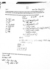 Physics 11 Quiz 7