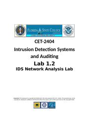 Lab1.2 - IDS Network Analysis Lab_v1 RLS.docx
