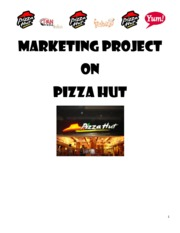 Pizza Hut India Marketing (Research Paper)