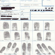 004 CHS 3501 Fingerprints HW Fprint Card