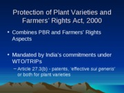AEM_3350_lecture_12_sp__09_Protection_of_plant_varieties
