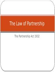 The Law of Partnership.pptx