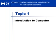 L1 Intro to Computer