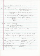 BUS ADM 343 Chapter 2 Homework Problems A Review of Accounting
