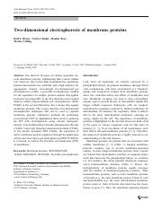 Two-dimensional-electrophoresis-of-membrane-protein.pdf