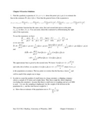 Chapter 8 Exercises Solutions