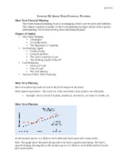 Lecture_Note_Chapter_19-Short-Term_Financial_Planning