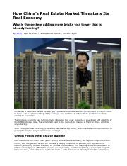 How China's Real Estate Market Threatens Its Real Economy.pdf