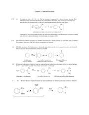 Chapter 17 Selected Solutions