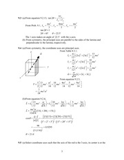 Analytical Mech Homework Solutions 123