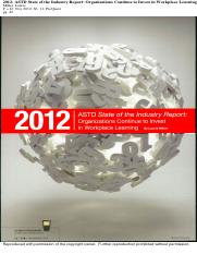 2012 - ASTD state of the industry report - organizations continue to invest in workplace learning.pd