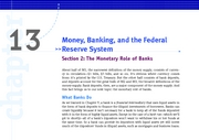 KW_Macro_Ch_13_Sec_02_The_Monetary_Role_of_Banks